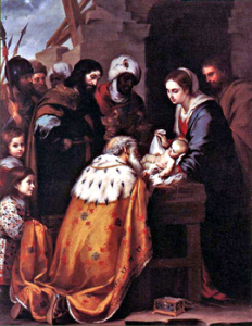 270px WiseMenAdorationMurillo 232x300 Happy Epiphany