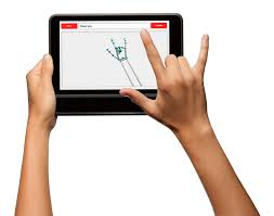 A tablet that can translate sign language into speech